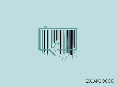 Escape Code - Escape Room Logo
