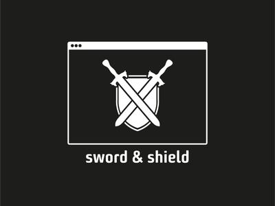 ThirtyLogos Challenge - Day 12 - sword & shield