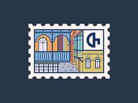 Tbilisi Postmark