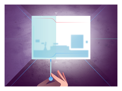 Partner Plex cube design animation 2d illustration vector google geometric