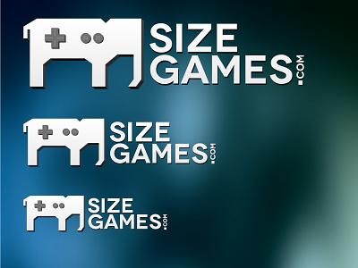 Size Games Logo logo illustration elephant gaming design games joystick video games