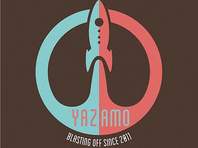 Beginnings of a T-shirt design tshirt design rocket space yazamo illustration rocket ship