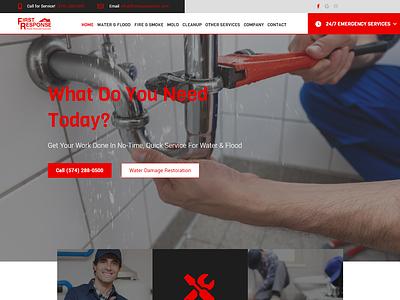 DKI Website Mock Pt. 1 dki business website website ui  ux web design adobe xd