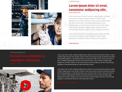 DKI Website Pt. 2 dki business website ui  ux web design adobe xd