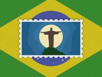 Travel of Stamp—Rio De Janeiro