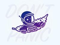 A astronaut from marijuana