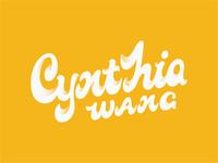Cynthia WANG Logo