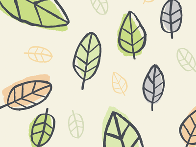 Another Pattern ink nature leaves fall pattern