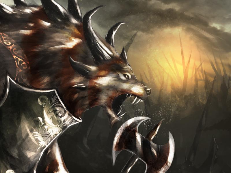 Dribbble Shot Scott Ferguson scott ferguson illustration fantasy art