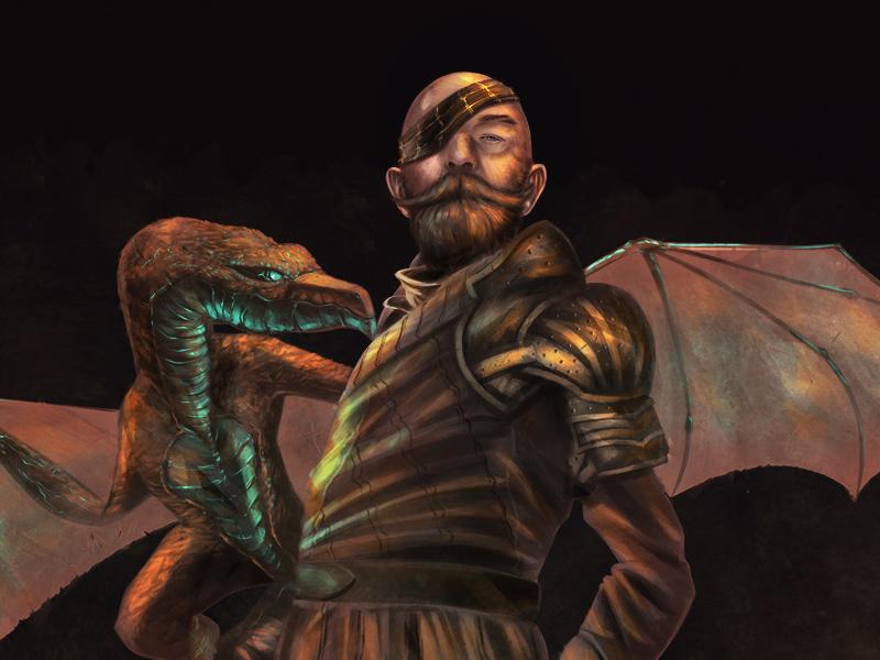 Dapper Gentleman scott ferguson dragon dapper gentleman fantasy art