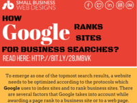How Google Ranks Sites For Business Related Searches?
