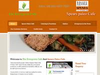 Evergreen Cafe, website