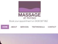 Massage At Physio