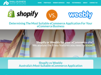 Shopify VS Weebly - The Best eCommerce Platform