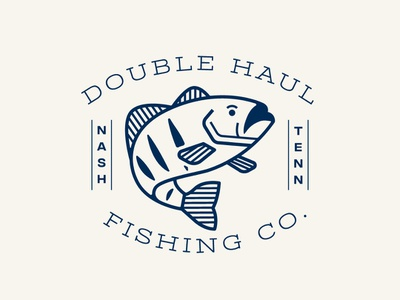 Double Haul Shirt Design vector typography illustration logo branding design