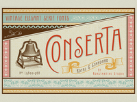 Conserta - Vintage Display Font