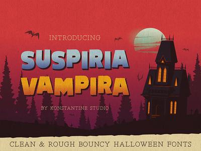 SUSPIRIA VAMPIRA - Bouncy Fonts