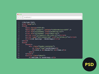 Browser Source Code PSD