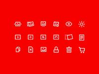 Wondermags Icons