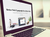 Better Web Type Website
