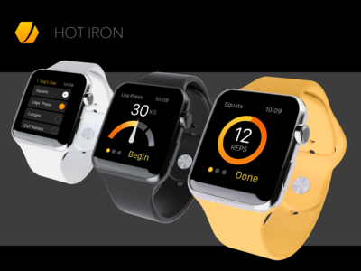 Hot Iron Fitness App