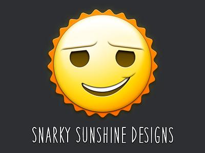 Snark snarky sun sunshine face