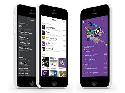 Audio audio music iphone ios app
