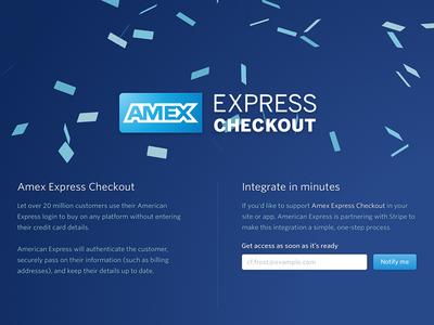 Amex Express Checkout web checkout american express amex