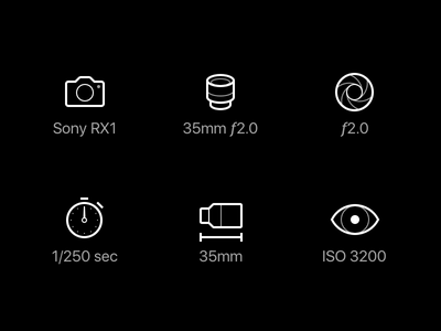Photography Icons icons photography photo camera