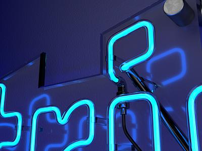 Neon cinema 4d c4d neon