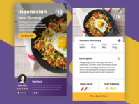 Restaurant Mobile App #Exploration