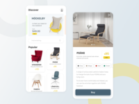 Furniture Shop App Exploration
