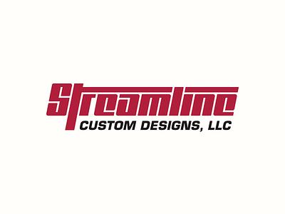 Streamline Custom Designs Wordmark Concept design illustration clean branding mark modern brand golden ratio logo