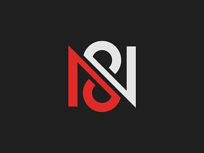 N8 n8 monogram clean branding mark modern brand golden ratio logo