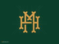 H + M Monogram