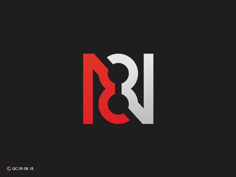 N8 n8 grid mark branding process modern monogram brand golden ratio logo