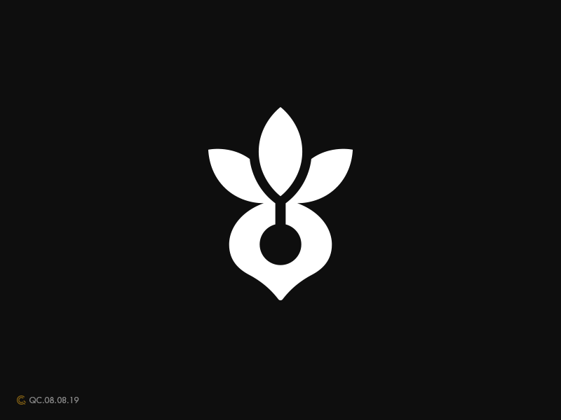 Beetroot Logo design beetroot radish process abstract clean branding mark modern brand golden ratio logo