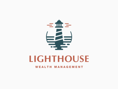 Lighthouse Logo corporate lighthouse process abstract grid clean branding mark modern brand golden ratio logo