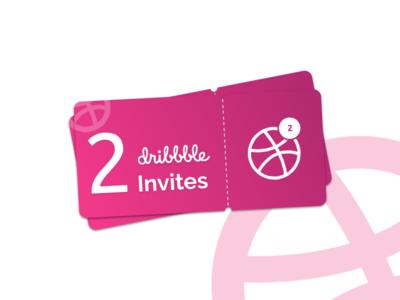 Dribbble Two Invites