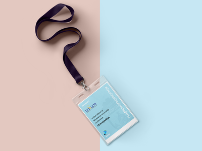 Lanyard design for Devopsdays India 2019 tag card lanyard