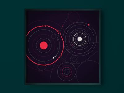 Minimal-Sci-Fi Artwork illustration artwork si-fi sci-fi minimal