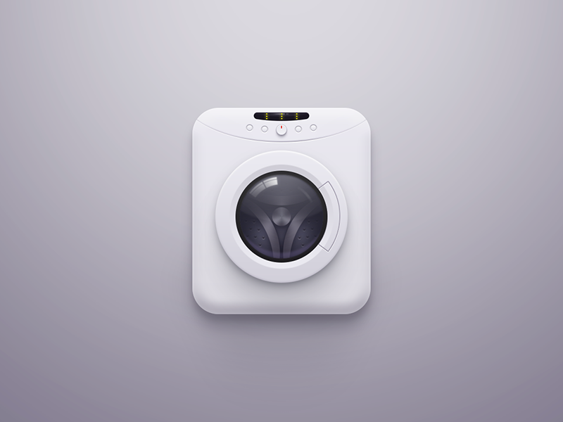 Washing Machine Icon machine