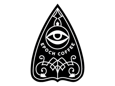 Epoch Coffee Patch eye logo patches patch design patch