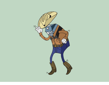 Oatly's Boot Scootin Boogie Illustration