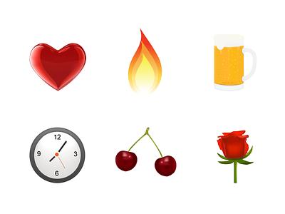Icon sets 2009 vector app website icon illustration design