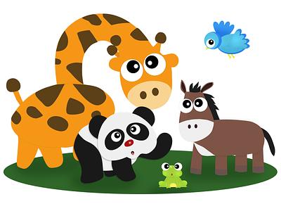 Animal Icon 2009 app website icon vector illustration design