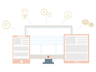 Graphic Icon for NaomiDesigns website vector illustration icon design