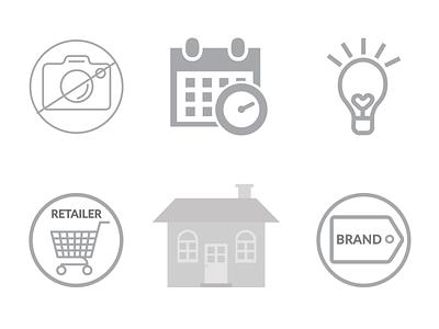 OneMarket WebApp Icon Sets app web illustration icon vector design