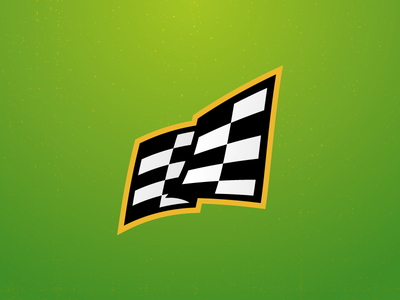 Flag checker race flag