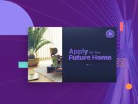 Rent apartment UI